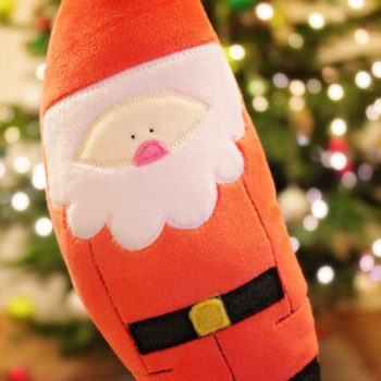 """Weihnachtsdeko nähen: Weihnachtsmann """"KLAUS"""""""