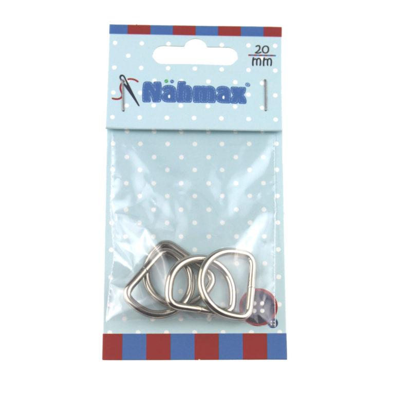D-Ring/ Halbrundring 20 mm