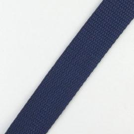 Gurtband 20 mm dunkelblau