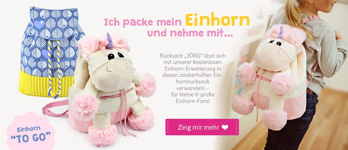 Einhorn-Rucksack nähen