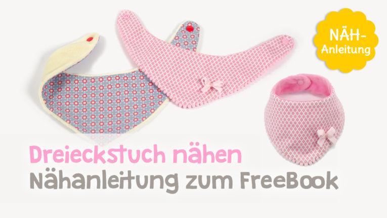 Video Dreieckstuch / Baby Halstuch nähen