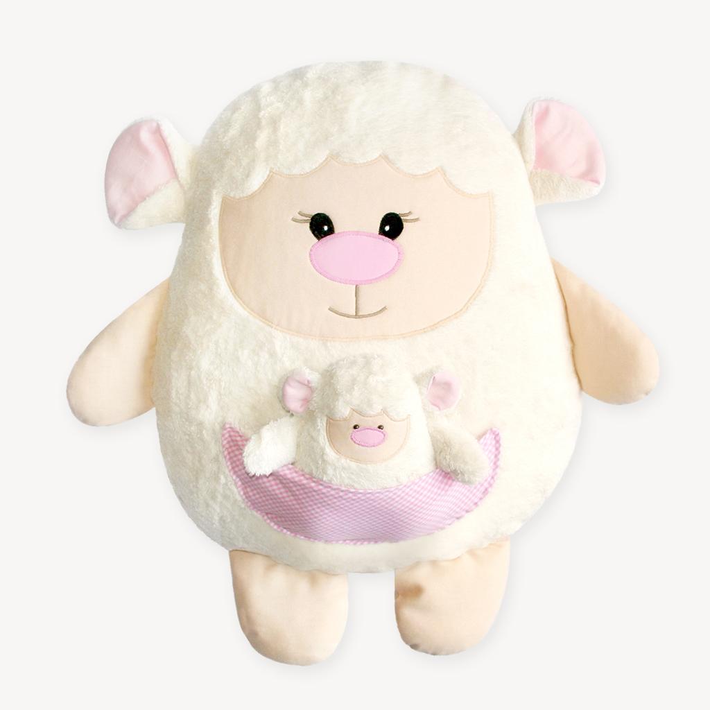 Schaf zu Ostern nähen: Schnittmuster Schaf LARI und Lamm LARINCHEN