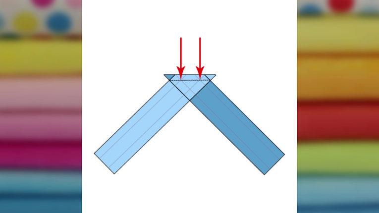 Quick Tip: Schrägband Übergang nähen