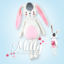 "Schnittmuster Hase ""MELLY"" by Lila-Lotta"