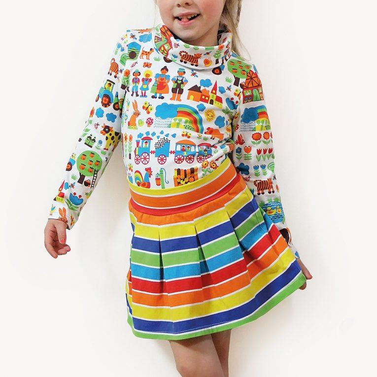 "Kindershirt nähen mit Schnittmuster Rolli ""RENATE"""