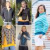 Schnittmuster Sweatjacke BENRD für Damen: Probenähergebnisse