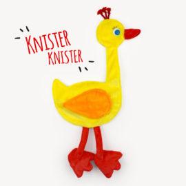 """Knistertuch nähen: Schmusetuch Ente """"GUNDI"""""""