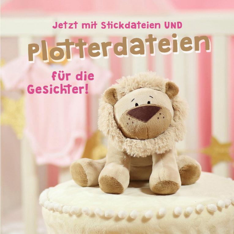 "Nähbuch Kuscheltiere: kullaloo ""Kuschelfreunde"": Jetzt mit Plotterdateien!"