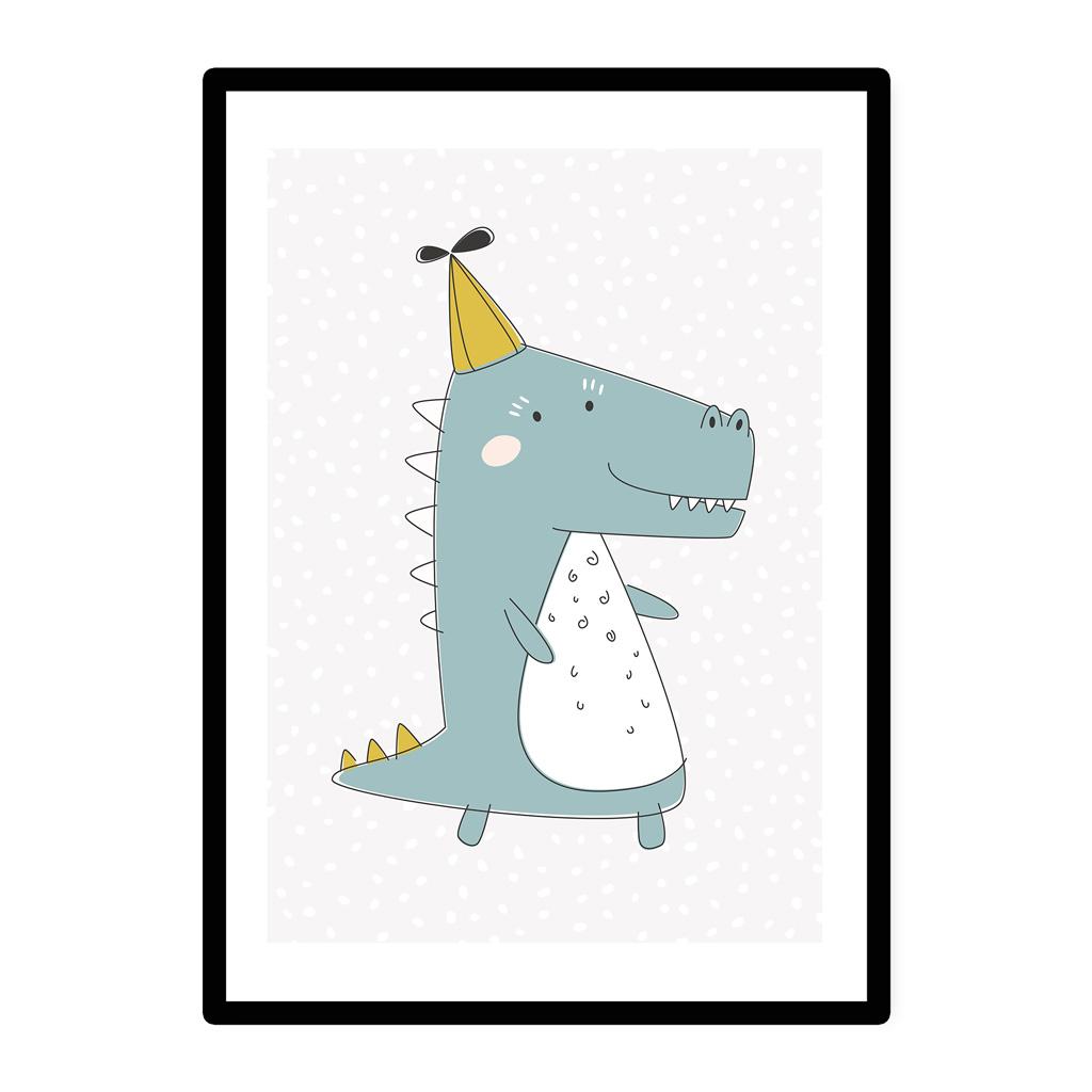 a3 poster kinderzimmer jungen und m dchen krokodil mit