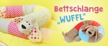 """Schnittmuster Bettschlange Hund """"WUFFL"""""""