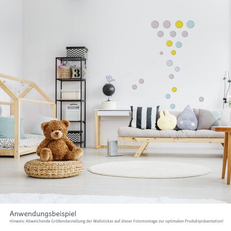 Wallsticker / Wandtattoo Kinderzimmer: Anwendungsbeispiel