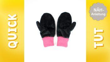 Quick Tut Video Nähanleitung: Handschuhe nähen