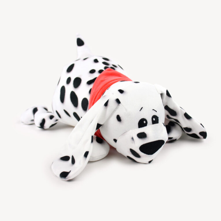 "Hund ""WUFFL"" in Dalmatiner-Optik"