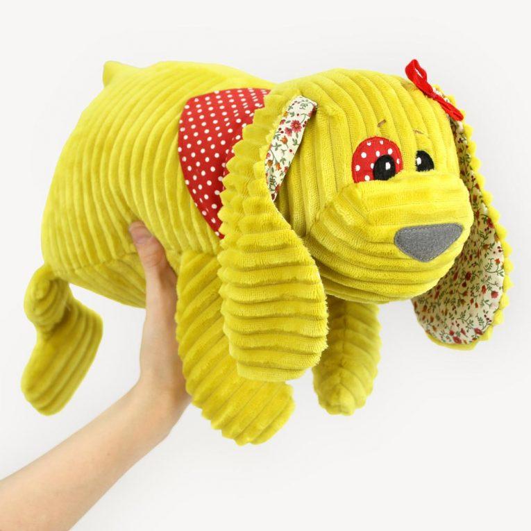 """Hund nähen: Schnittmuster Hund """"WUFFL"""""""