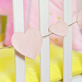 Girlande nähen Babyzimmer