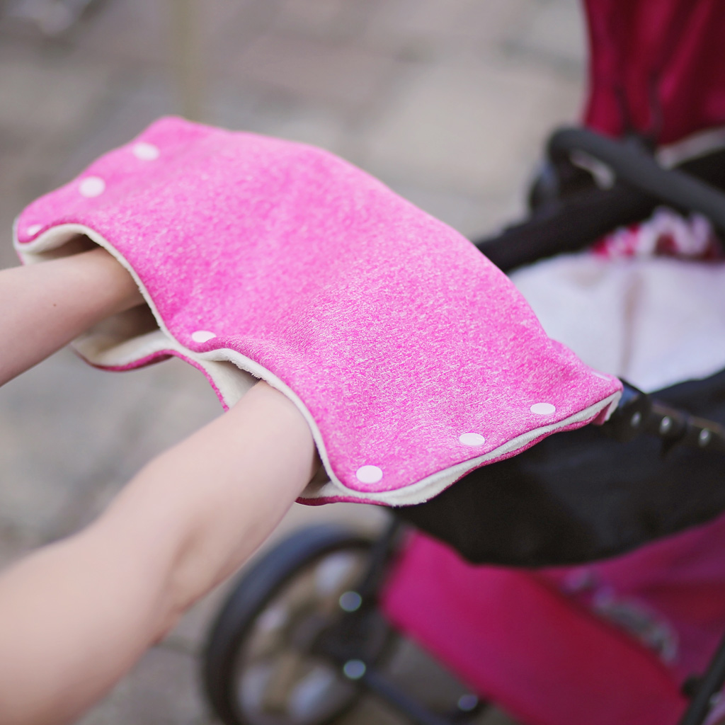 Kinderwagenmuff nähen: Freebook für Newsletter-AbonnentInnen