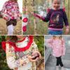 """Rüschenshirt """"MERRY"""": Probenähergbenisse für Pullover / ärmelloses Top mit Rüschen für Kinder"""