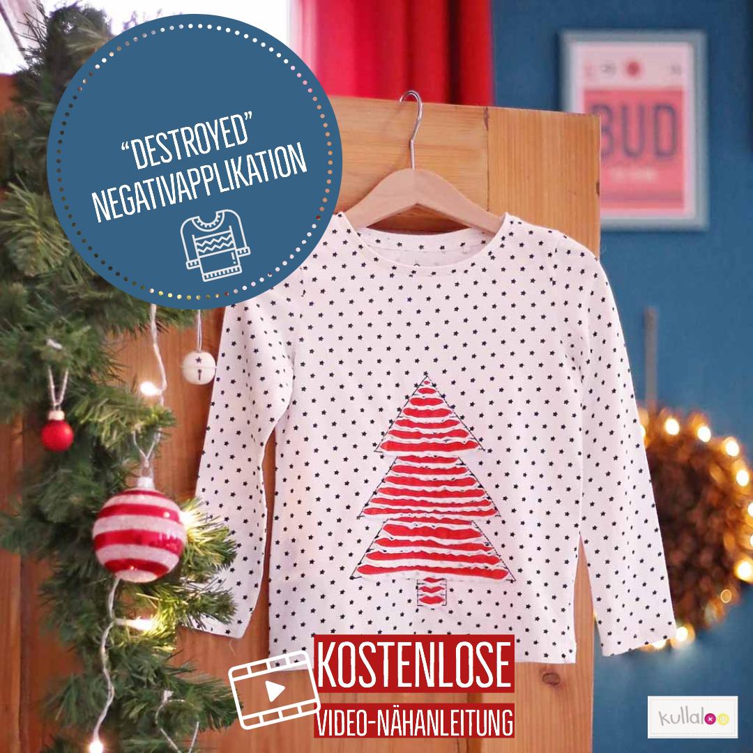 Nähen zu Weihnachten: kleines Klamotten Upcycling | kullaloo