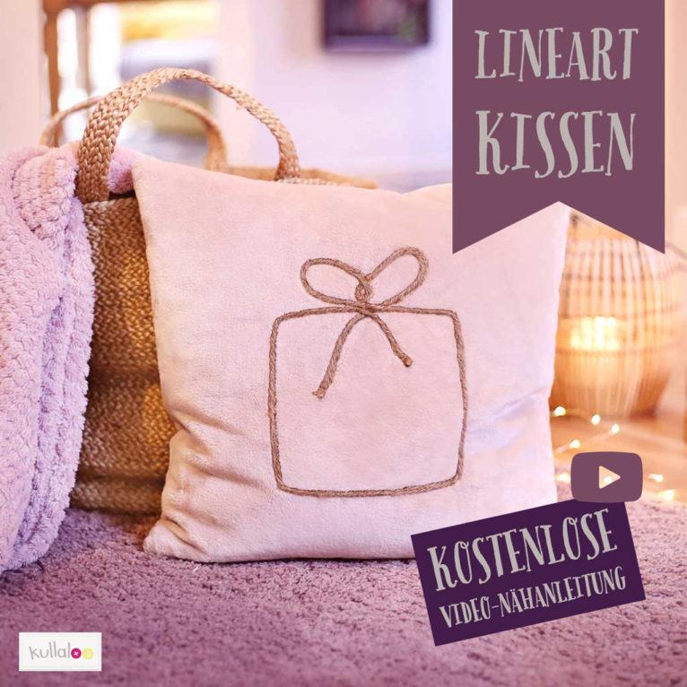 Linart Applikation nähen für Weihnachten