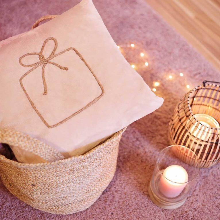 Linart Kissen nähen für Advent und Weihnachten