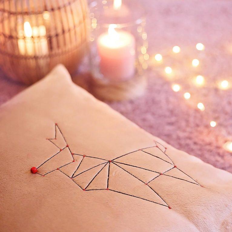 Origami Weihnachtsdeko Nähen: Vorlagen