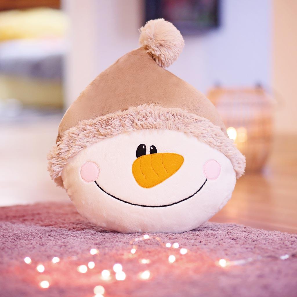 Schneemann nähen für Weihnachten