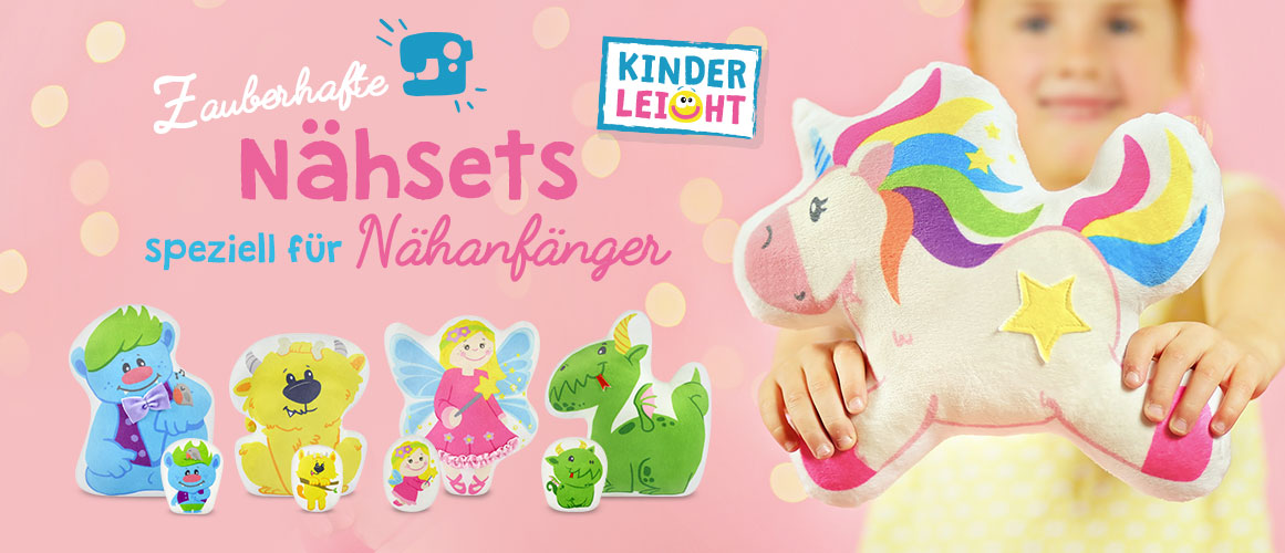 "Kinder / Anfänger Nähsets ""Magic World"""