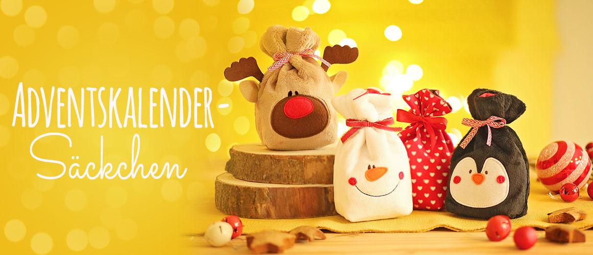 Nähen für Weihnachten: Adventskalender Säckchen nähen