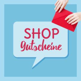 Shop Gutscheine verschenken