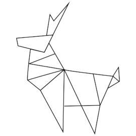 Origami Weihnachtsdeko nähen Vorlagen