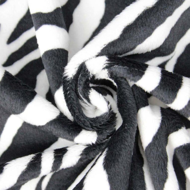 Plüsch Zebra Muster