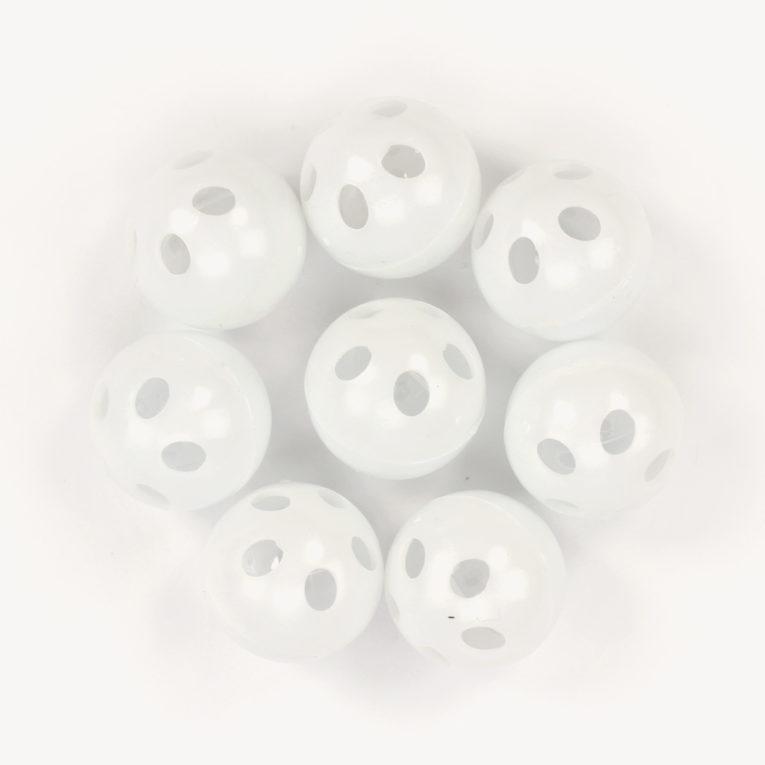 Rasselkugel zum Einnähen, 24 mm, Set mit 8 Stück – Go Handmade