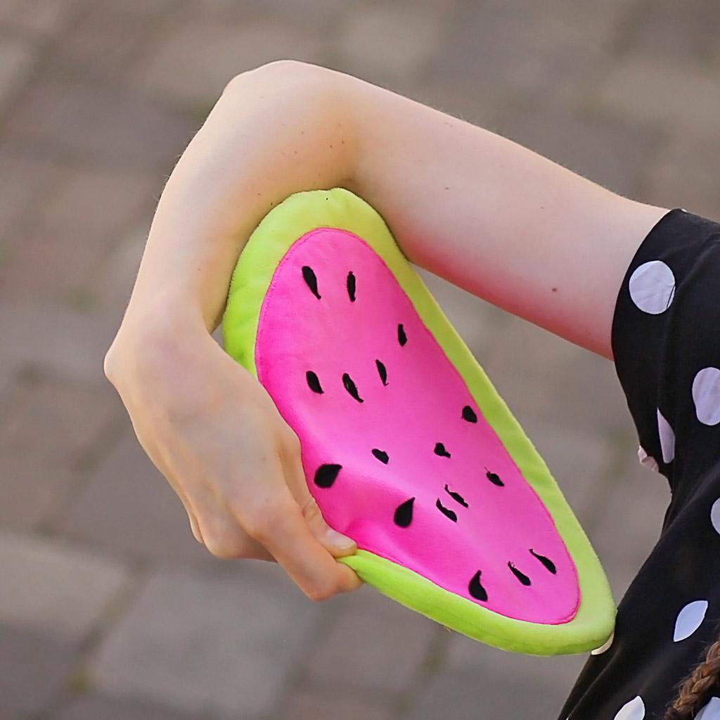 Hundespielzeug selber nähen: Frisbee