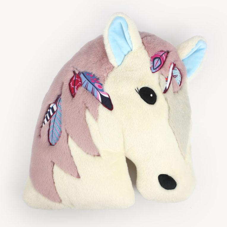 "Pferde Kissen nähen mit Schnittmuster ""NALA"""