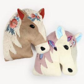 """Pferdekissen nähen mit Schnittmuster """"NALA"""""""