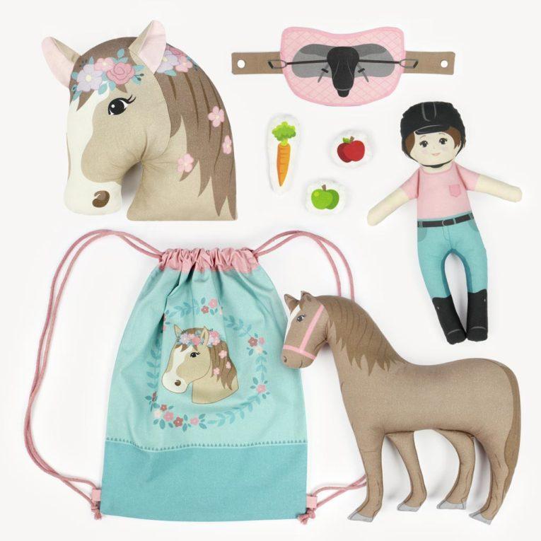 """HORSE LOVE"" Pferde Cut & Sew Stoff Panel: Alle Nähprojekte"