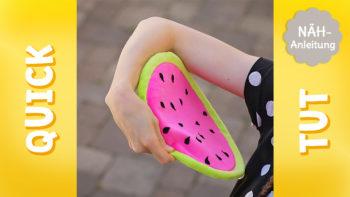 Frisbee nähen – Video Nähanleitung