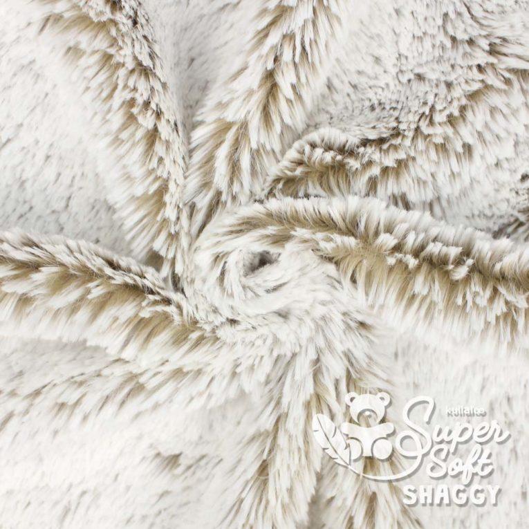 Zottelplüsch DIP DYE camel – 15 mm SuperSoft SHAGGY