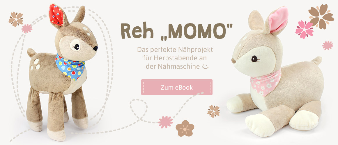 "Schnittmuster Reh ""MOMO"""