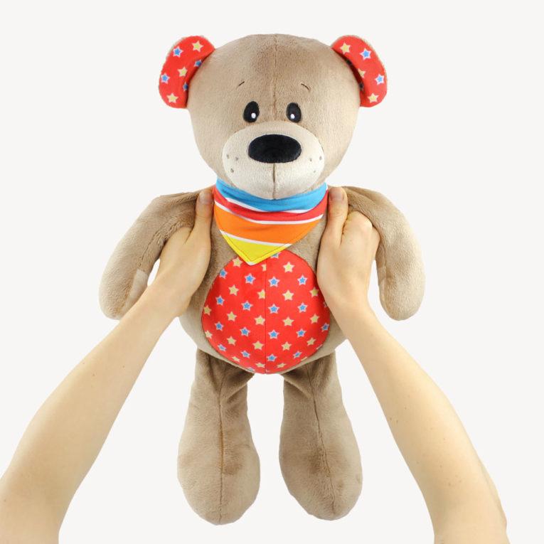 """Teddy nähen mit Teddybär Schnittmuster """"JOSHI"""""""