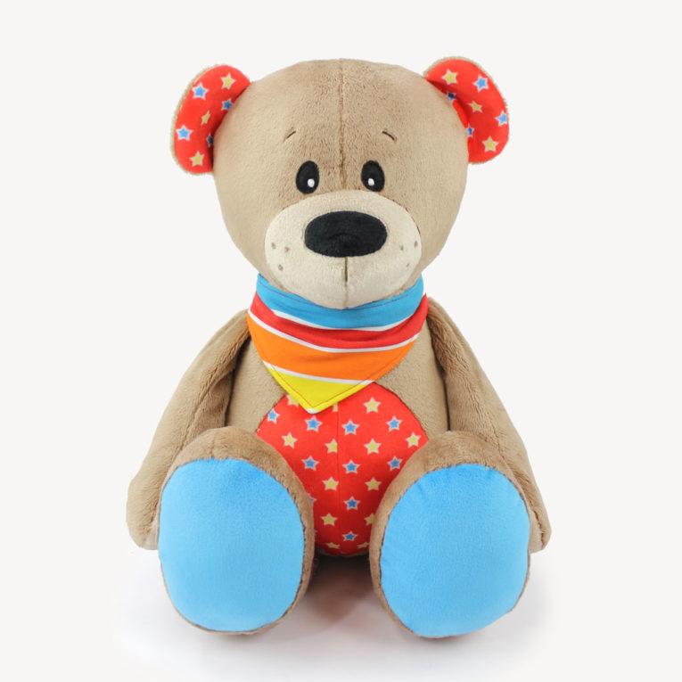 """Teddybär nähen mit Teddy Schnittmuster """"JOSHI"""""""