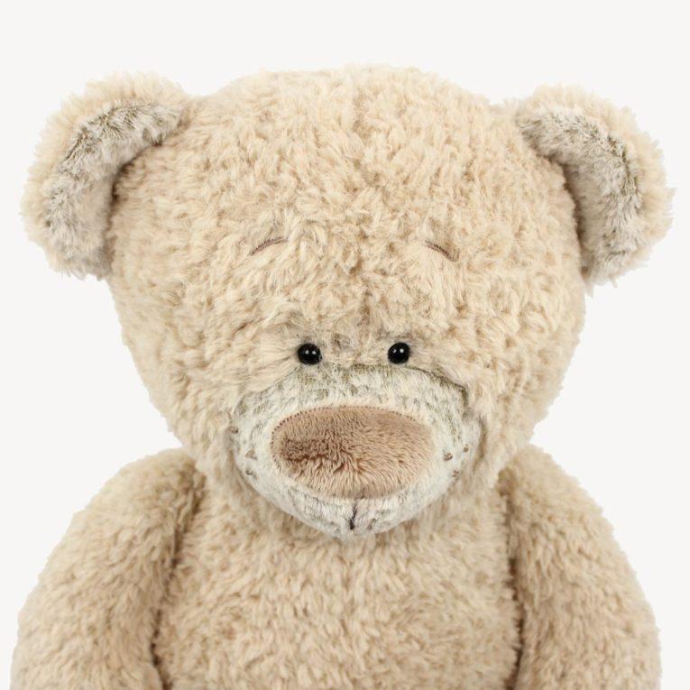 "Teddybär Schnittmuster ""JOSHI"" aus Fine Teddy in macadamia"