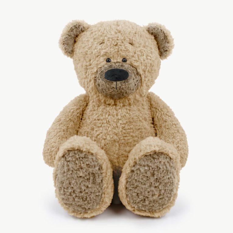 """Teddybär """"JOSHI"""" aus Fine Teddy in walnuss"""