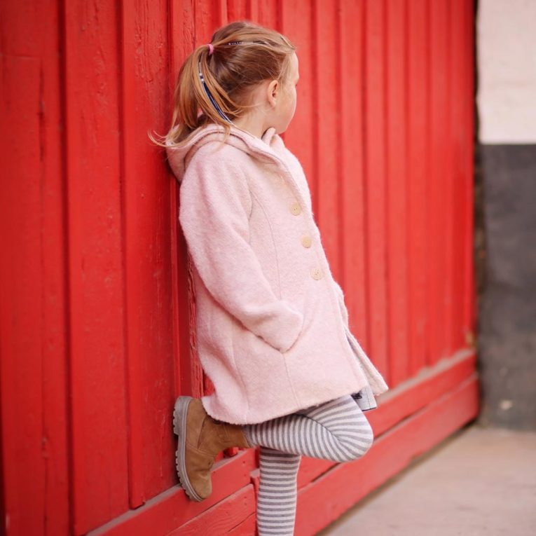 "Schnittmuster Kurzmantel ""MISTY"" für Kinder zum Mantel nähen"