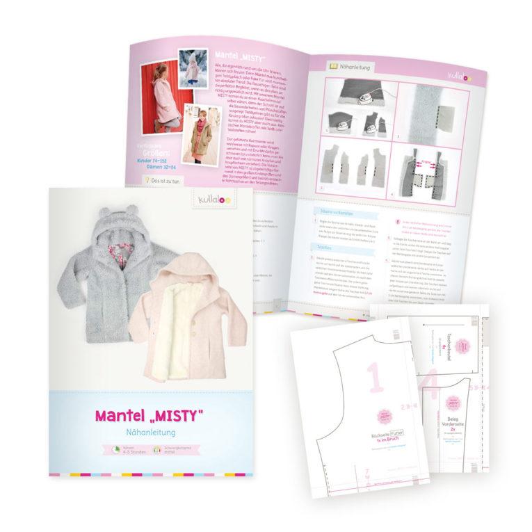 "Nähanleitung Mantel ""MISTY"" als PDF eBook"