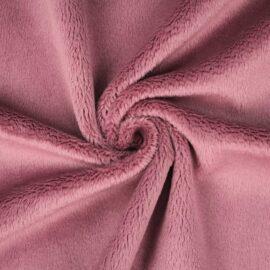 "PlushMinky™ Minky Stoff ""Foxglove"" – 3 mm Flor"