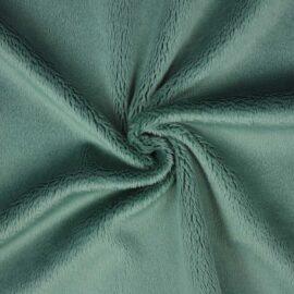 """PlushMinky™ Minky Stoff jade (""""Jadeite"""") – 3 mm Flor"""