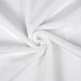 PlushMinky™ Minky Stoff weiß – 3 mm Flor