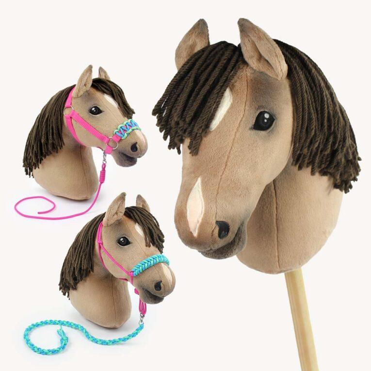 """Hobby Horse selber machen mit Schnittmuster """"HOLLY"""" und Anleitung für Halfter & Führstricke"""