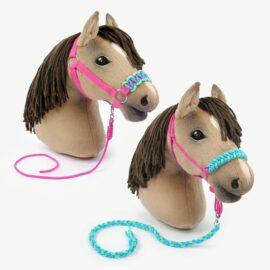 Hobby Horse Zubehör selber machen: Anleitung für Knotenhalfter, normales Halfter & Führstricke
